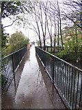 TA2609 : Fildes Street Footbridge by David Wright