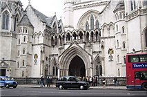 TQ3181 : Royal Courts of Justice by Val Pollard