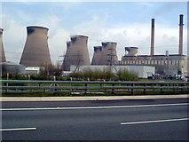 SE4824 : Ferrybridge power station by Les Harvey