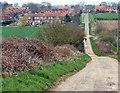 SE9358 : Southfield Well Balk, Wetwang by Peter Church