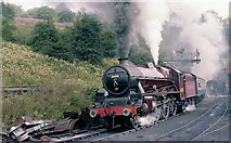 NZ8204 : North York Moors train leaving Grosmont  Tunnel by John Firth