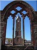 SC2484 : Ruins of St Peter's Church, Peel by Chris Gunns