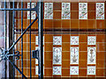 ST3188 : Gate and wall tiles, Newport Market by Robin Drayton