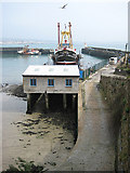 SW4628 : High and dry in Newlyn harbour by Pauline E