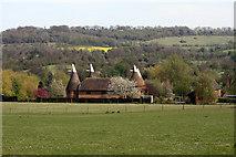 TQ5160 : Filston Oast, Filston Lane, Shoreham, Kent by Oast House Archive