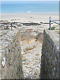 SW3526 : Access to the beach at Sennen Cove by Pauline E