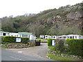 SW4726 : Penlee Caravan Park by Pauline E