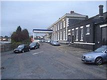 SO8555 : Shrub Hill Station by Trevor Rickard