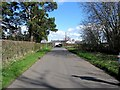 NY3139 : B5299 approaching Caldbeck by Roger Smith