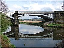 SE2320 : Railway Bridge over the River Calder by Gary Hughes