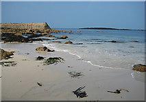 SW3526 : Jetty at Sennen Cove by Pauline E