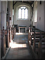 TG1633 : St Andrew's church - south aisle by Evelyn Simak
