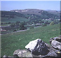 SD8264 : Hillside above Settle and the Langcliffe mills by Trevor Rickard