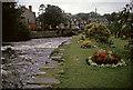 SH5826 : River Artro in Flood, Llanbedr, Gwynedd by Gladys Matthews