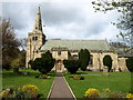 NU2406 : St. Lawrence Church, Warkworth by wfmillar