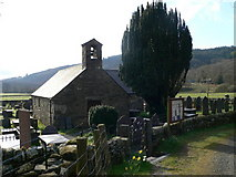 SH7157 : St Julitta's Church, Capel Curig by Eirian Evans