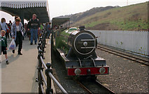 TA0390 : North Bay Railway at Scalby, Scarborough by Dr Neil Clifton