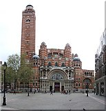 TQ2979 : Westminster Cathedral by Rob Farrow