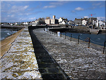 SC2667 : View of Castletown from the pier by Chris Gunns