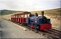 SC4278 : 'Jack' on the Groudle Glen railway by Dr Neil Clifton