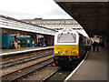SJ4912 : Wrexham and Shropshire Railway train at Shrewsbury by John Lucas