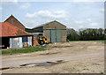 TG0730 : Farm buildings beside Corpusty Road by Evelyn Simak