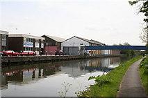 TQ1983 : Northfield Industrial Estate alongside the Paddington Arm by Dr Neil Clifton