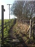 SE2336 : Footpath by Newlay railway bridge by Rich Tea