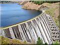 SN9186 : Clywedog Dam and Llyn Clywedog Reservoir by John Lucas