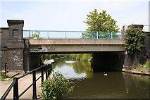TQ2182 : Old Oak Lane Bridge, Paddington Arm, Grand Union Canal by Dr Neil Clifton