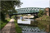 TQ2182 : North London Railway bridge, Paddington Arm, Grand Union Canal by Dr Neil Clifton