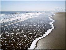 TA4115 : The Kilnsea Beach Shoreline by Andy Beecroft