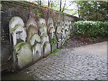 TQ3680 : Limehouse: Graveyard of the Church of St Anne by Nigel Cox