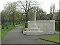 SK5640 : War Memorial, General Cemetery by Alan Murray-Rust