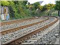 J4981 : Railway tracks near Bangor by Rossographer