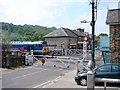 NZ8205 : 'Lion' on the level crossing at Grosmont by John Lucas