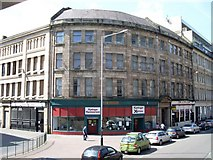 NS5964 : Building on corner of Howard Street and Maxwell Street by Stephen Sweeney