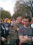 NT2572 : Start line, Edinburgh BUPA 10K race by Lisa Jarvis