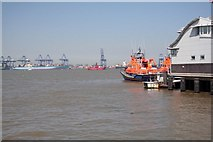 TM2532 : Harwich Lifeboats and Lightship by roger geach