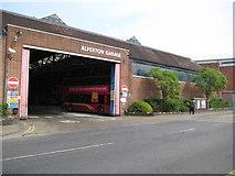 TQ1883 : Alperton bus garage by Nigel Cox