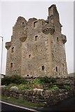 HU4039 : Scalloway Castle by Callum Black