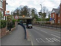 SK3516 : Tamworth Road railway bridge by Mat Fascione