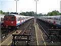 TQ0584 : Uxbridge: Metropolitan Line sidings by Nigel Cox