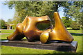 TL4317 : Henry Moore sculpture by Julian Osley