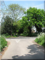 TG3825 : Goose Lane meets the B1159 (Town Road) by Evelyn Simak