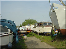 SK4293 : Tulley's Marine, Northfield Lane by Alan Murray-Rust