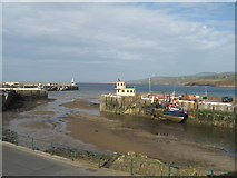 SC2484 : Harbour mouth and breakwater, Peel by Sue Adair