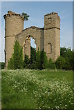 SO8842 : Dunstall Castle in the spring by Philip Halling