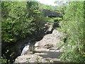 SH7357 : River Llugwy & the Cyfyng bridge by Row17