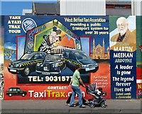 J3274 : Mural, Falls Road, Belfast [6] by Rossographer